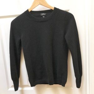 J. Crew collection black cashmere sweater